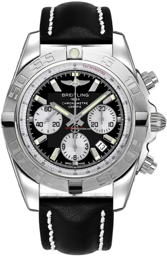 Breitling Chronomat 44 Black 43.5mm Dial - The Luxury Well