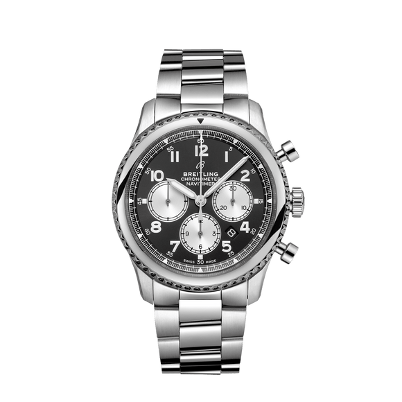 Breitling Navitimer 8 B01 Chronograph Stainless Steel - The Luxury Well