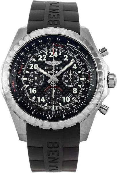 Breitling Bentley 24H Black 49mm Dial - The Luxury Well