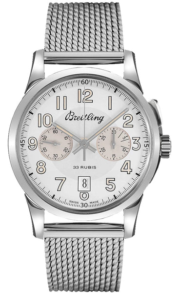 Breitling Transocean Chronograph 1915 22mm - The Luxury Well