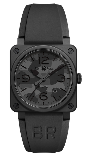 Bell & Ross BR 03-92 BLACK CAMO - The Luxury Well