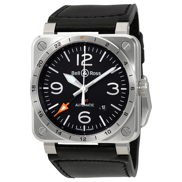 Bell & Ross BR 03-93 Aviation GMT Black Dial Automatics - The Luxury Well