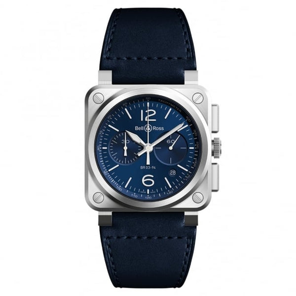 Bell & Ross BR03-94 Blue Steel - The Luxury Well