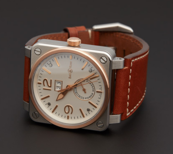 Bell & Ross BR0390-BICOLOR - The Luxury Well