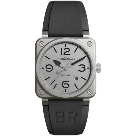 Bell & Ross BRO3-92 Horoblack Limited Edition Stainless Steel - The Luxury Well