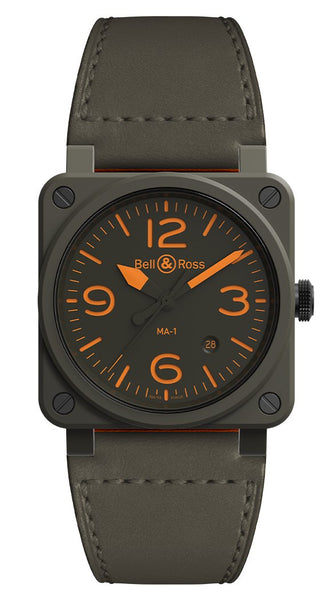 Bell & Ross MA-1 Pilot Ceramic - The Luxury Well