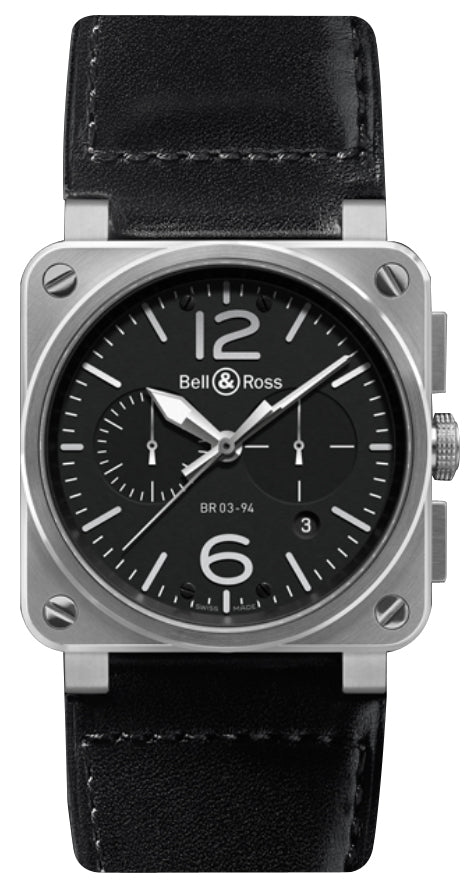 Bell & Ross BR 03-94 Chronograph - The Luxury Well