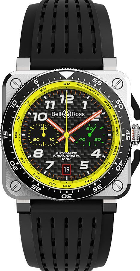 Bell & Ross BR 03-94 Renault Sport Formula One Limited Edition Black - The Luxury Well