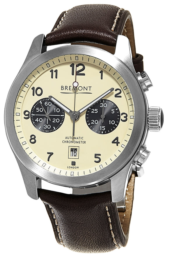 Bremont ALT1-C CREAM Stainless Steel - The Luxury Well