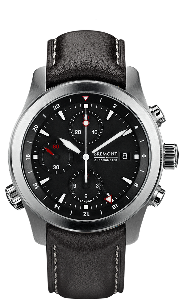 Bremont ALT1-ZT Black Stainless Steel - The Luxury Well