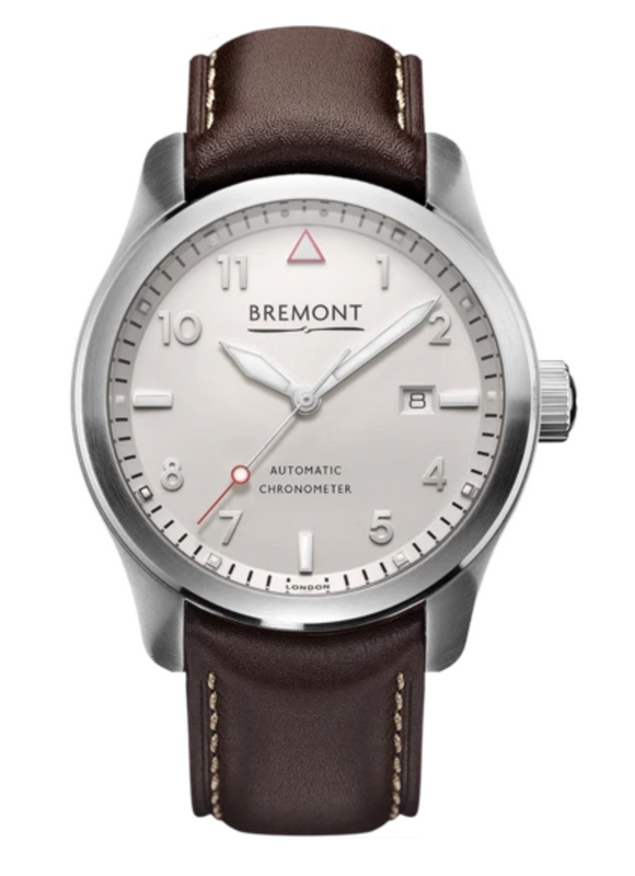 Bremont SOLO White Stainless Steel - The Luxury Well