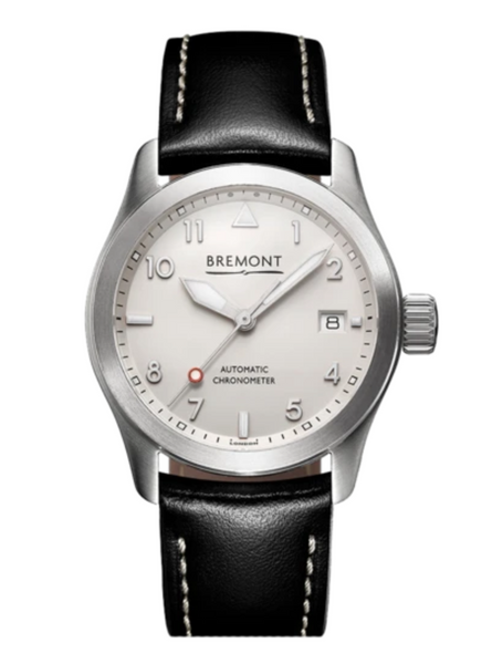 Bremont SOLO-37 White Stainless Steel - The Luxury Well