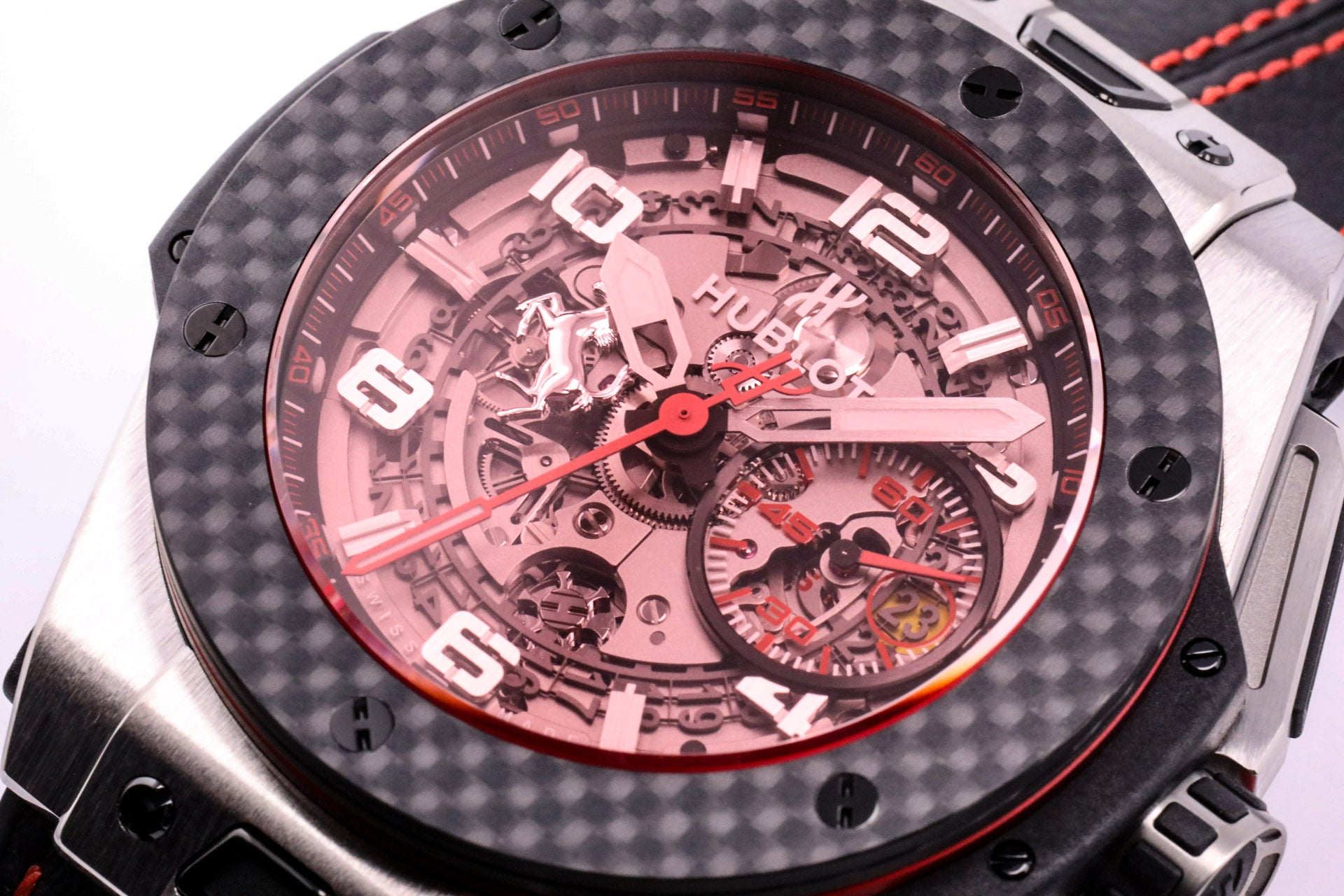Hublot Big Bang Ferrari Titanium Carbon Chronograph Limited Edition