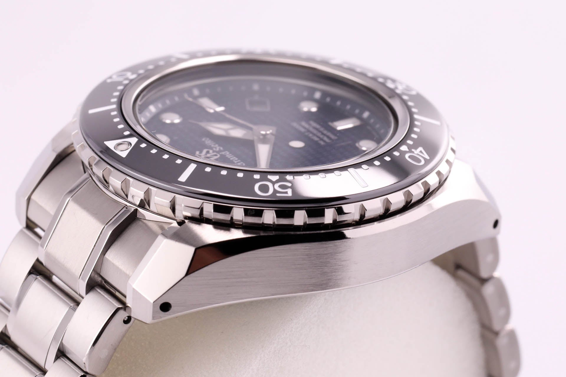 Grand Seiko Hi-Beat Professional Diver Blue Dial Titanium Limited Edition