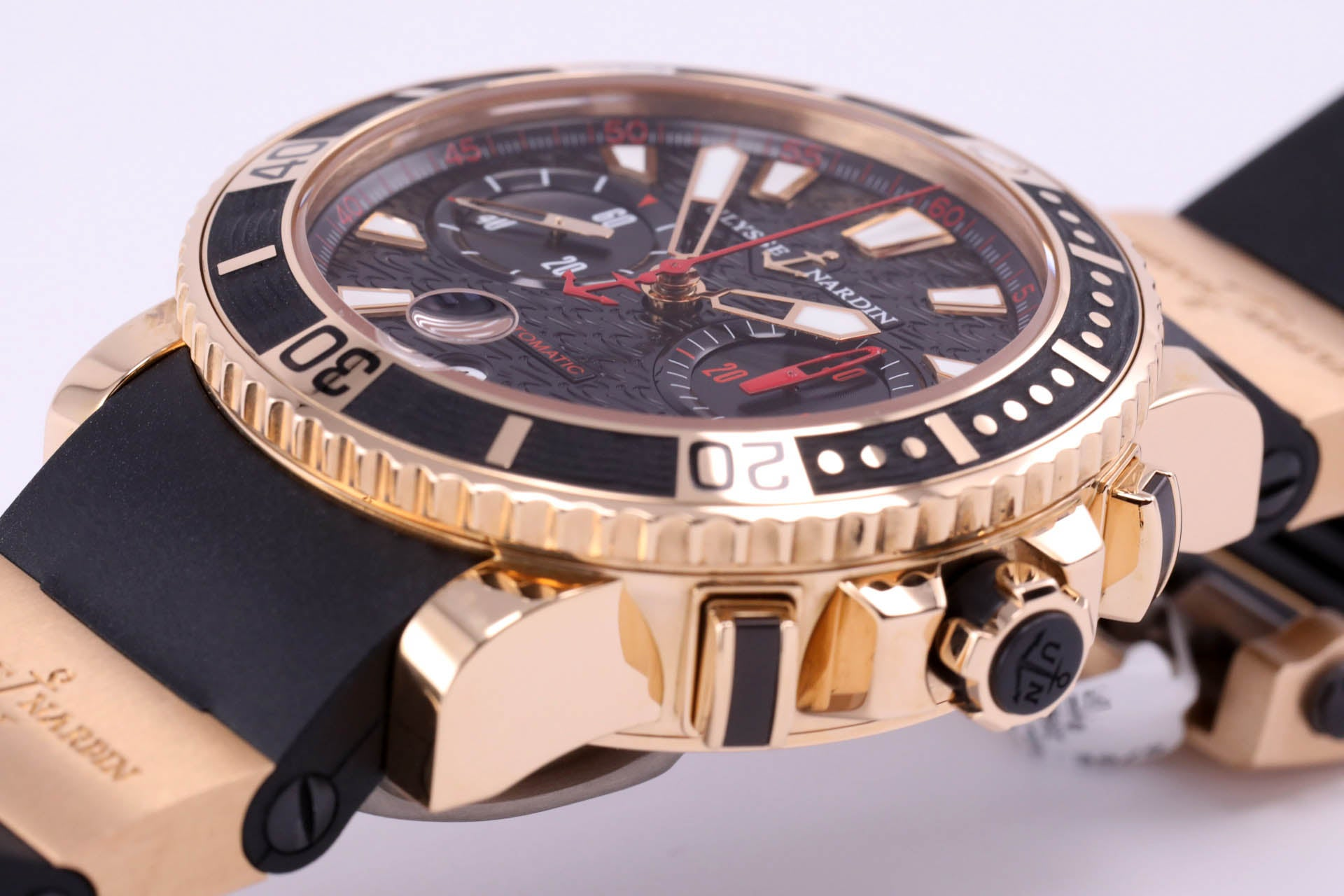 Ulysse Nardin Maxi Marine Diver Chronograph 18kt Gold Edition