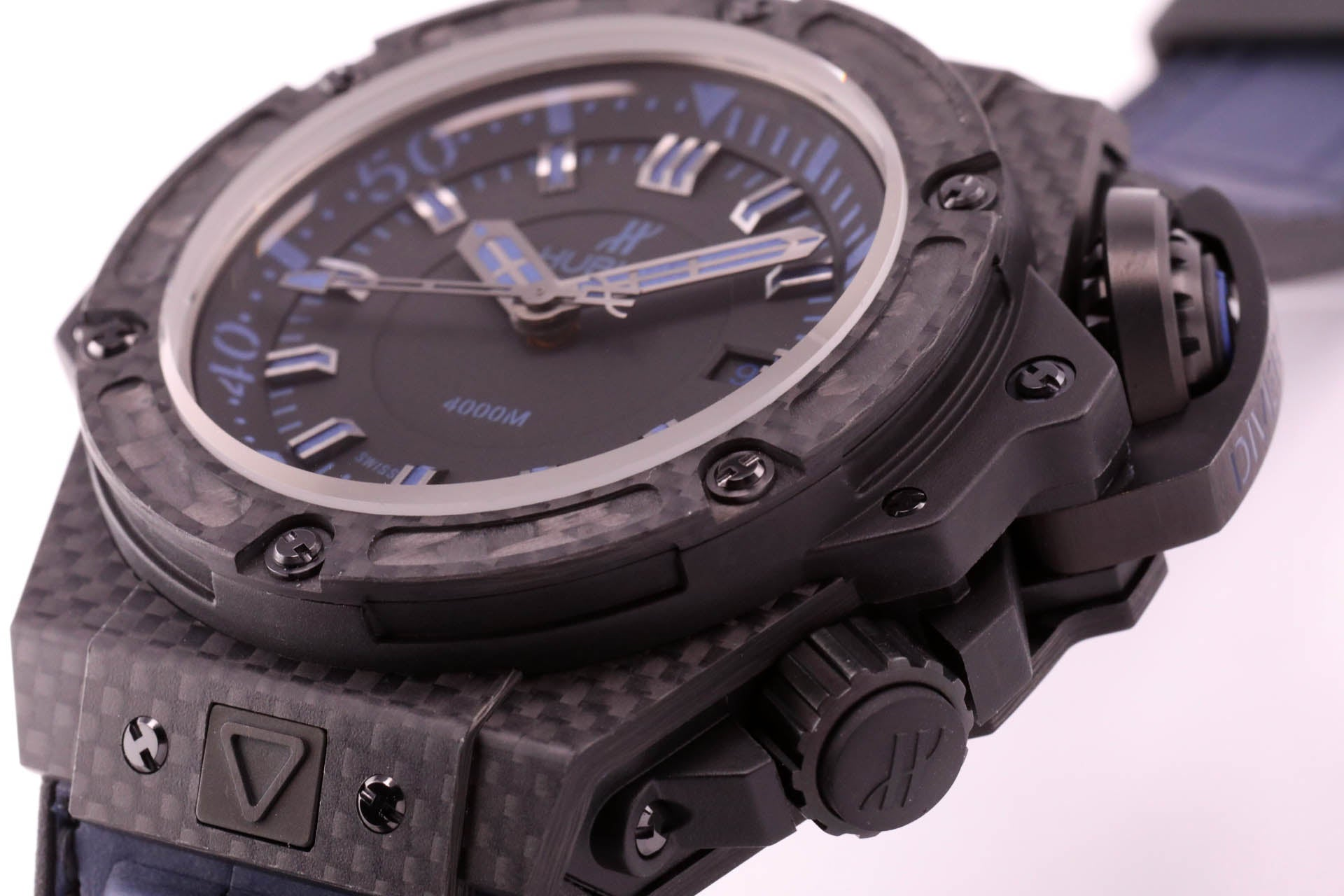 Hublot Big Bang King Power Oceanographic Carbon Blue Ltd. Edition