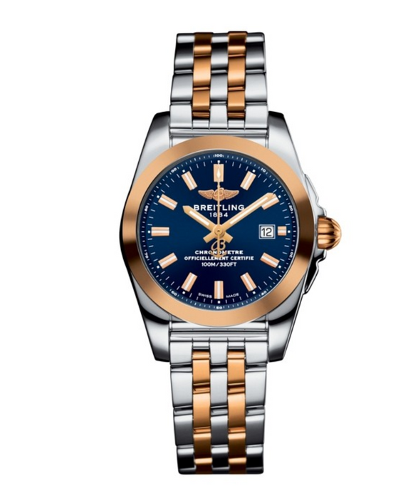 Breitling GALACTIC 29 Steel & rose gold 29mm - The Luxury Well