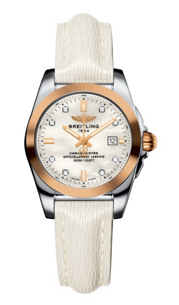 Breitling GALACTIC 29 SLEEK Stainless Steel / Rose Gold 29mm - The Luxury Well