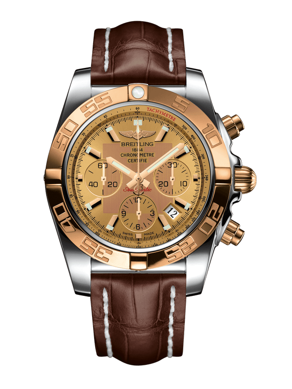 Breitling Chronomat 44 Steel & gold - Golden Sun - The Luxury Well