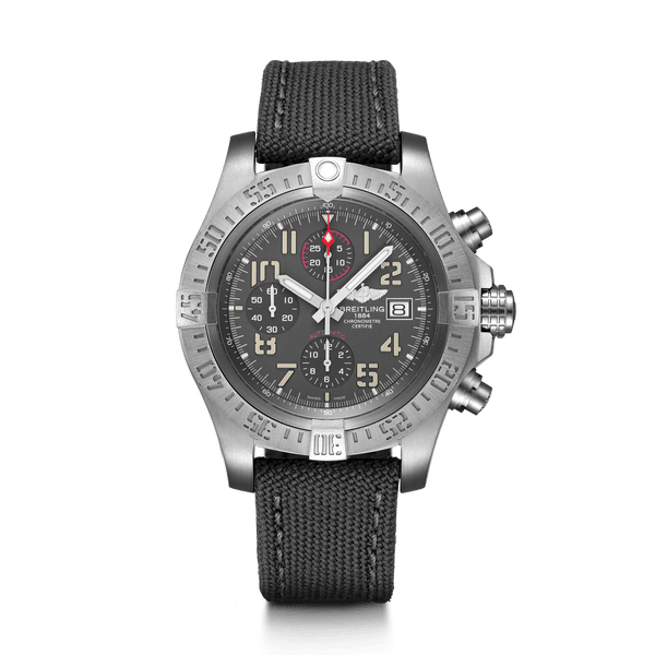 Breitling Avenger Bandit Titanium - Titanium Gray 45mm - The Luxury Well