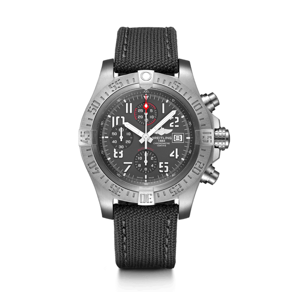 Breitling Avenger Bandit Titanium / Titanium Gray / 45mm Dial - The Luxury Well