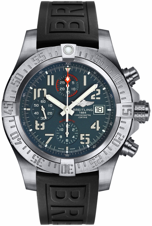 Breitling Avenger Bandit Titanium Black Diver Pro 3 - The Luxury Well