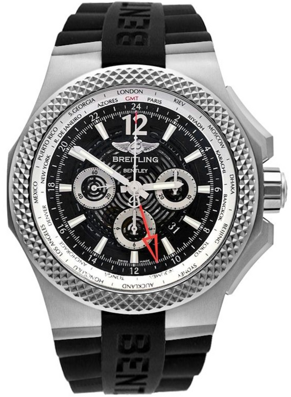 Breitling Bentley GMT Light Body B04 Chronograph Automatic 49mm - The Luxury Well