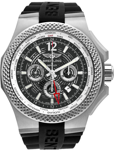 Breitling Bentley GMT Light Body B04 49mm - The Luxury Well