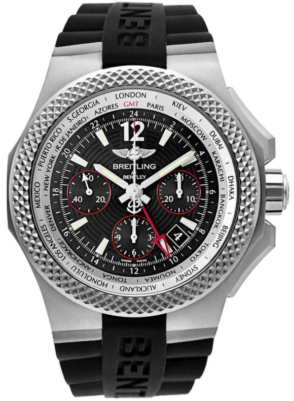 Breitling Bentley GMT Light Body 45mm - The Luxury Well