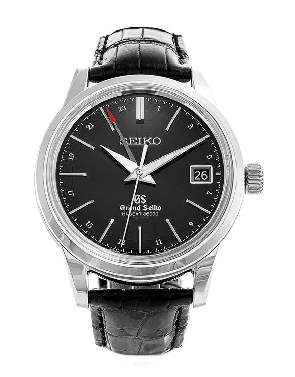 Grand Seiko Automatic Hi Beat GMT Black Dial - The Luxury Well