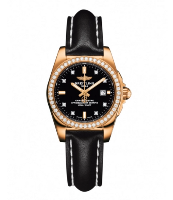 Breitling Galactic 29 Rose Gold / Diamond - The Luxury Well