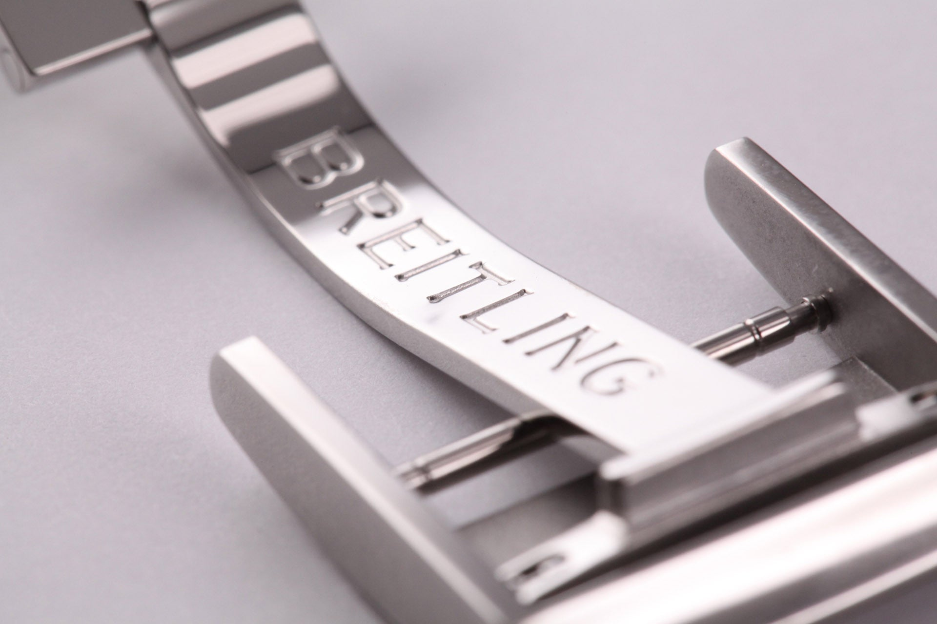Breitling Stainless Steel Folding Buckle 20mm