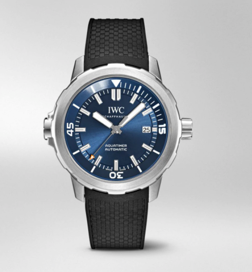 IWC Aquatimer Automatic Expedition Jacques-Yves Cousteau Blue Dial