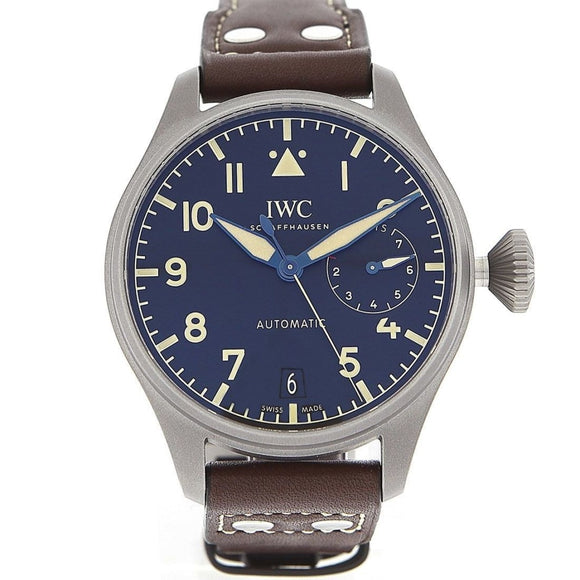 IWC Big Pilot Heritage Automatic Black Dial