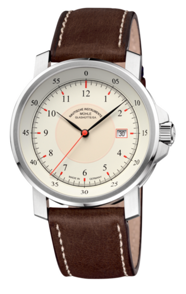 Mühle Glashütte M 29 Classic 42.4mm Cream Dial - The Luxury Well