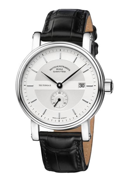 Mühle Glashütte Teutonia II Kleine Sekunde 41mm Silver Dial - The Luxury Well