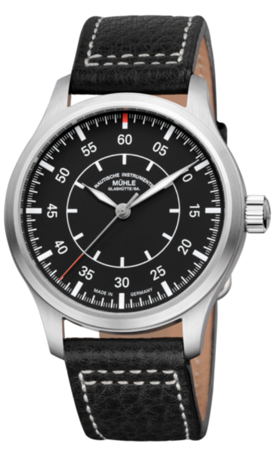 Mühle Glashütte Terrasport I Beobachter 44mm Black Dial - The Luxury Well