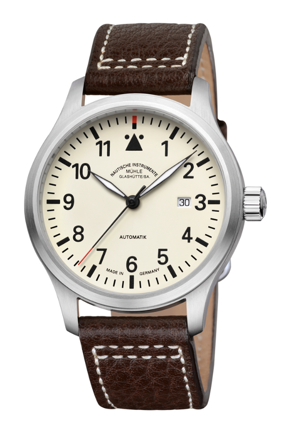 Mühle Glashütte Terrasport I 44mm Cream Dial - The Luxury Well