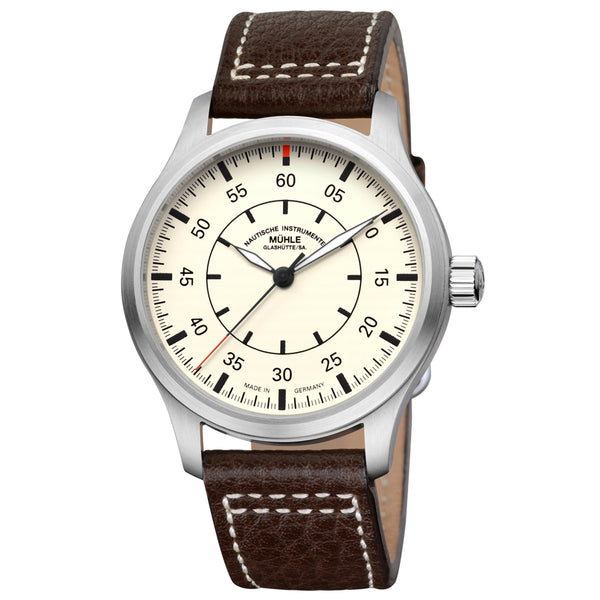 Mühle Glashütte Terrasport I Beobachter 44mm Cream Dial - The Luxury Well