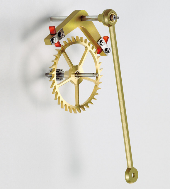 Erwin Sattler Mechanica M1 Upgrade Kit: ESCAPEMENT LEVER WITH AGATE PALLETS AND ESCAPEMENT WHEEL