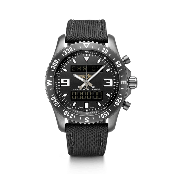 Breitling Chronospace Military Perpetual Calander Chronograph 46mm - The Luxury Well