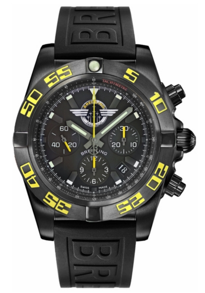 Breitling Chronomat 44 Chronograph Automatic Black 44mm - The Luxury Well