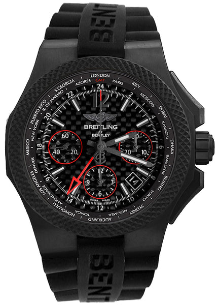 Breitling GMT B04 S Carbon Body Black 45mm Limited Edition - The Luxury Well