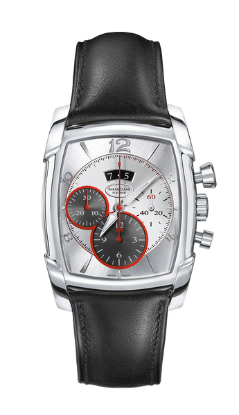 Parmigiani Fleurier Kalpagraphe Steel 44.5 x 39.2 mm silver dial - The Luxury Well