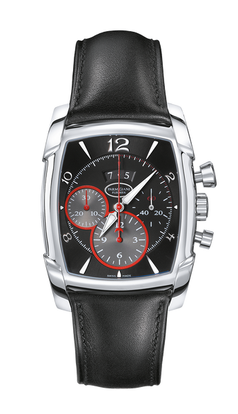Parmigiani Fleurier Kalpagraphe Steel 44.5 x 39.2 mm black dial - The Luxury Well