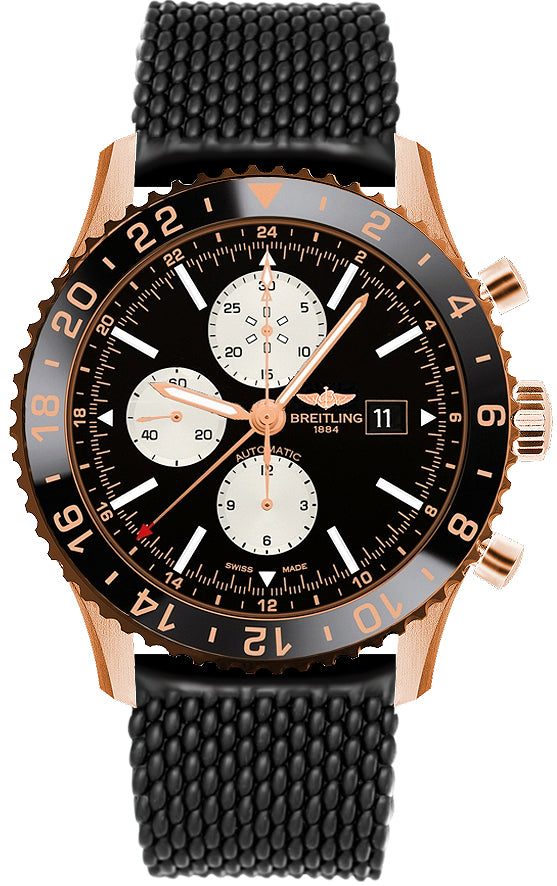 Breitling Chronoliner Red Gold / Black 46mm Limited Edition