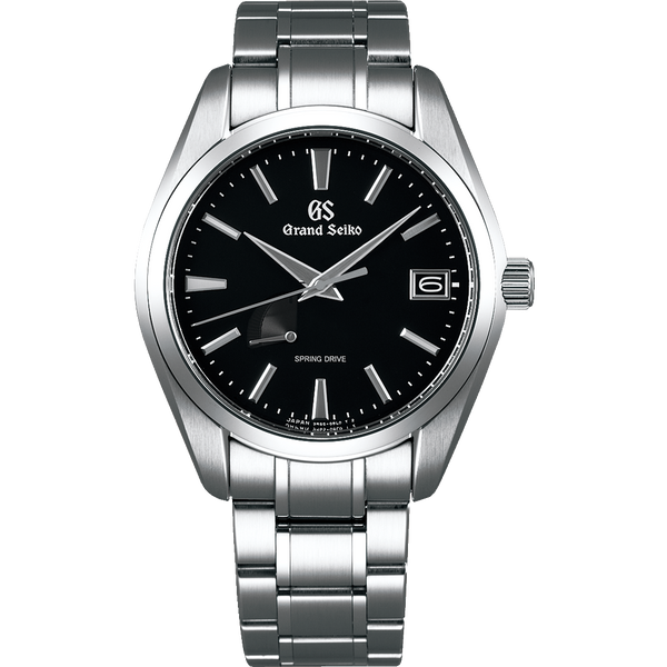 Seiko Grand Seiko Spring Drive Black (New Model) - The Luxury Well