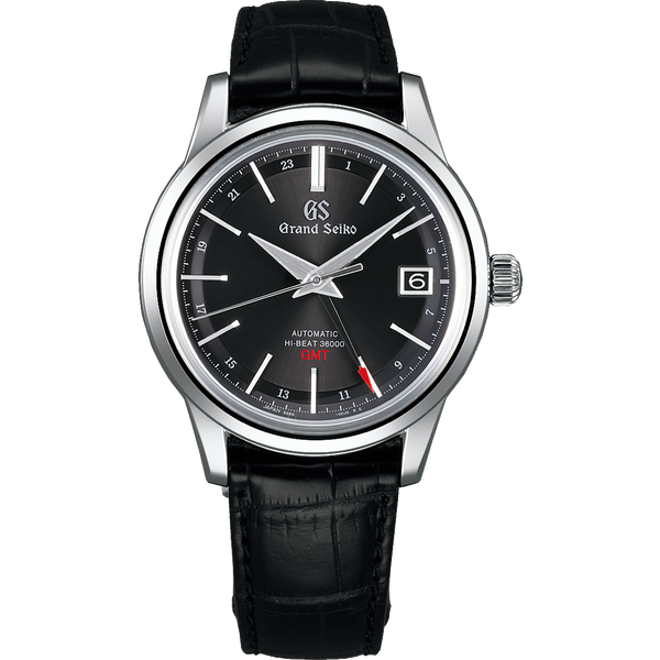 Seiko Grand Seiko Automatic Hi Beat GMT Black SBGJ219 - The Luxury Well