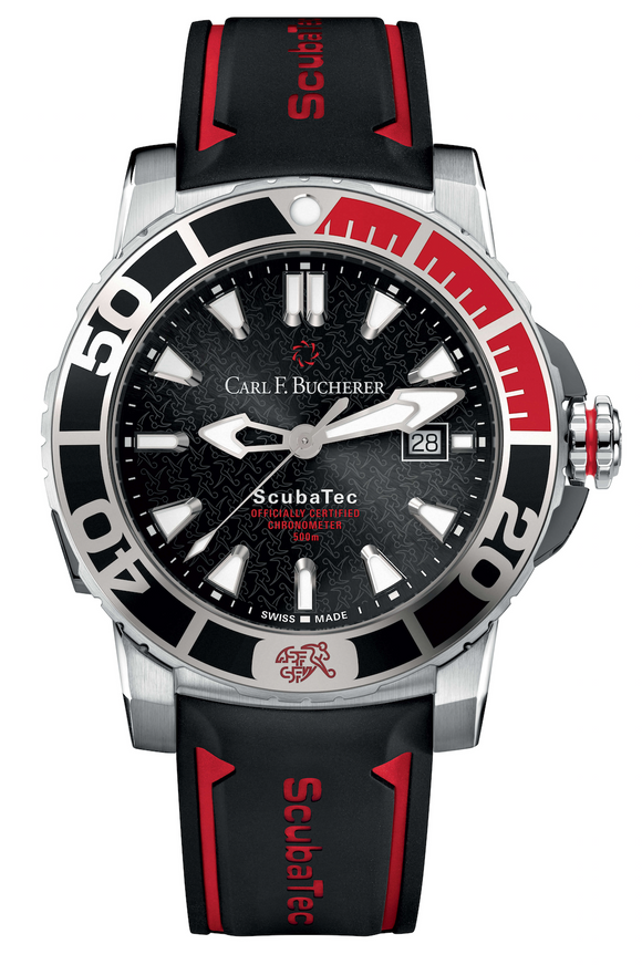 Carl F. Bucherer Patravi Scubatec SFA Special Edition Steel 44.6mm Dial - The Luxury Well