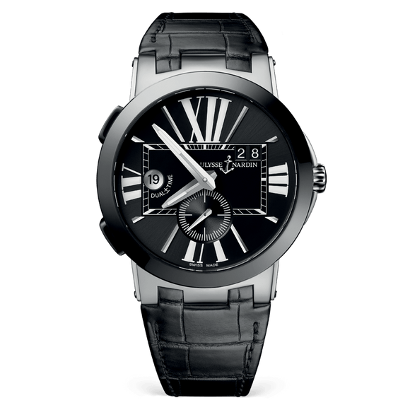 Ulysse Nardin Executive Dual Time Stainless Steel - The Luxury Well